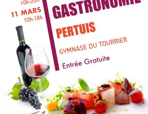 Salon Vin et gastronomie de Pertuis : édition 2018