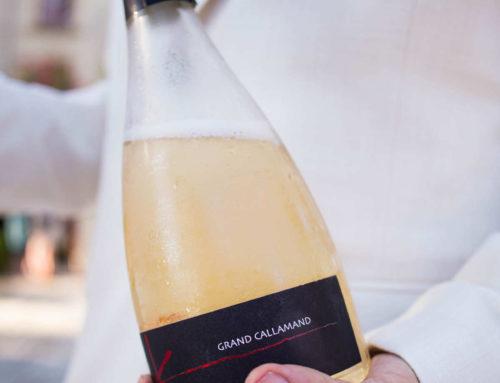 Mousseux K blanc et rosé du Grand Callamand pour un mariage